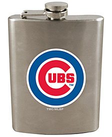 Memory Company Chicago Cubs 8oz Stainless Steel Flask