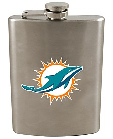 Memory Company Miami Dolphins 8oz Stainless Steel Flask