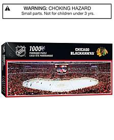 MasterPieces Chicago Blackhawks 1000 Piece Panoramic Puzzle