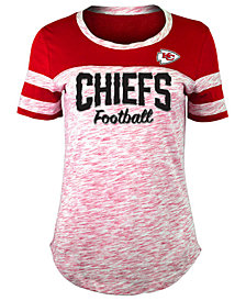 5th & Ocean Women's Kansas City Chiefs Space Dye T-Shirt