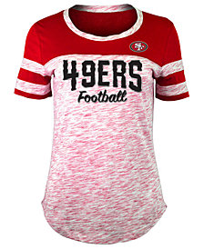 5th & Ocean Women's San Francisco 49ers Space Dye T-Shirt