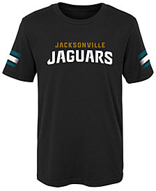 Outerstuff Jacksonville Jaguars Goal Line T-Shirt, Little Boys (4-7)