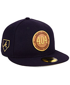 New Era Atlanta Braves Area Patch 59FIFTY FITTED Cap