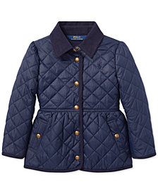 Polo Ralph Lauren Big Girls Quilted Barn Jacket