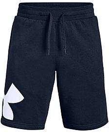 "Under Armour Men's Fleece Logo 10"" Shorts"