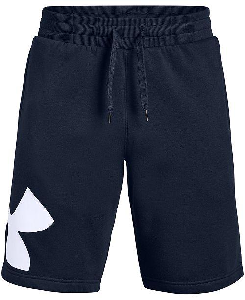 """Under Armour Men's Fleece Logo 10"""" Shorts"""