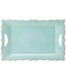 Lenox French Perle Melamine Large Rectangular Platter