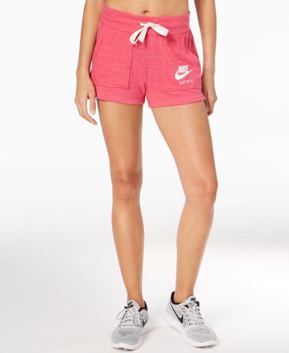 Nike Sportswear Gym Vintage Shorts, Pink, Size: M
