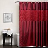 Red Bathroom Window Curtains Macy S