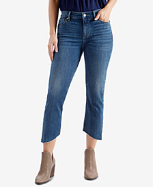 Lucky Brand Remade Ava Skinny Cropped Jeans