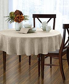 "Elrene Pennington Ivory 70"" Round Tablecloth"