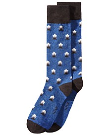 AlfaTech by Alfani Patterned Socks, Created for Macy's