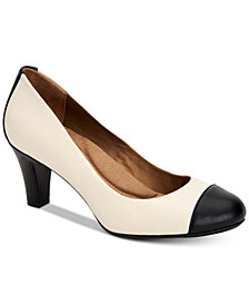 Giani Bernini Riylaa Memory Foam Pumps, Created for Macy's