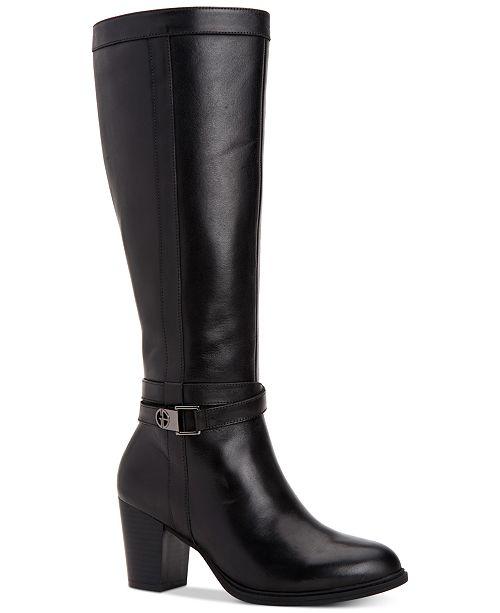 Giani Bernini Rozario Memory-Foam Dress Boots, Created for Macy's