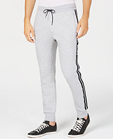 Michael Kors Men's Logo Fleece Jogger Pants
