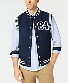 American Rag Men's Appliqué Varsity Vest, Created for Macy's