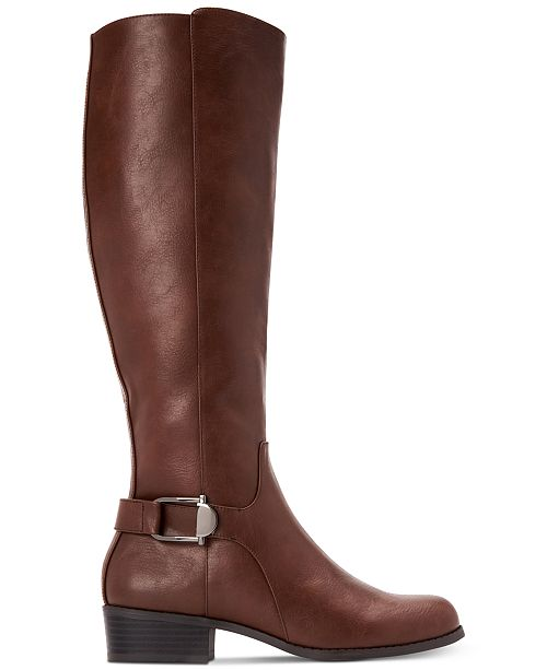 new high available sale usa online Alfani Women's Step 'N Flex Kallumm Wide-Calf Boots, Created for ...