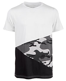 Ideology Big Boys Camoblock T-Shirt, Created for Macy's