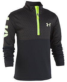Under Armour Little Boys Razor Printed 1/4-Zip Shirt