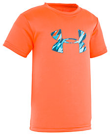 Under Armour Little Boys Big Logo Graphic T-Shirt