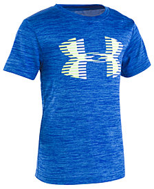 Under Armour Little Boys Twist Logo-Print T-Shirt