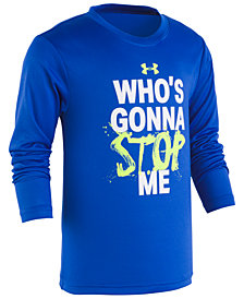 Under Armour Little Boys Stop-Print T-Shirt