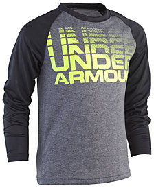 Under Armour Little Boys Wordmark Logo Raglan T-Shirt