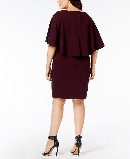 Calvin Klein Plus Size Tiered Dress Dresses Women Macys