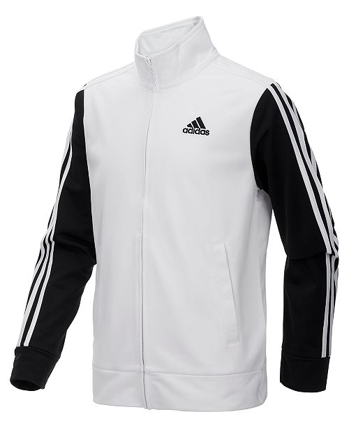 2a4e6ed3f adidas Big Boys Zip-Up Tricot Jacket   Reviews - Coats   Jackets ...