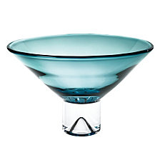 Monaco Peacock Blue 12 Inch Decorative Bowl