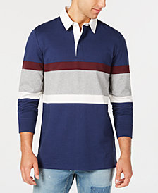 American Rag Men's Varsity Rugby Shirt, Created for Macy's