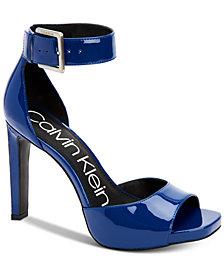 Calvin Klein Women's Marinda Platform Sandals