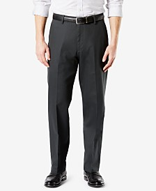 Dockers Men's Signature Lux Cotton Relaxed Fit Stretch Khaki Pants