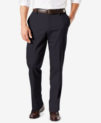 Men's Big & Tall Signature Lux Cotton Classic Fit Stretch Khaki Pants