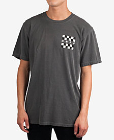 Neff Men's Checker Logo Graphic T-Shirt