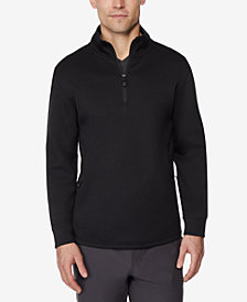 32 Degrees Men's Fleece Tech Quarter Zip