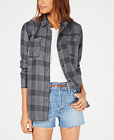 Hurley Juniors' Plaid Shirt