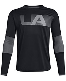 Under Armour Big Boys Tech Logo Graphic T-Shirt