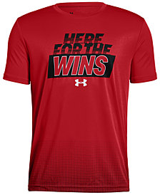 Under Armour Big Boys Wins-Print T-Shirt