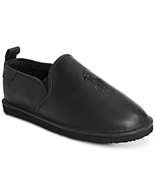 Polo Ralph Lauren Men's Ayden Leather Slippers