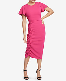 RACHEL Rachel Roy Pippa Ruched Dress, Created for Macy's