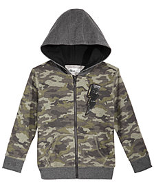Epic Threads Little Boys Camo-Print Full-Zip Hoodie, Created for Macy's