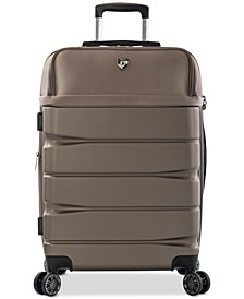 """CLOSEOUT! Charge-A-Weigh 26"""" Hybrid Spinner Suitcase"""