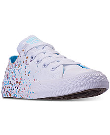 Converse Little Girls' Chuck Taylor All Star Ox Confetti Casual Sneakers from F