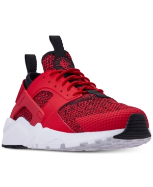 reputable site f47d5 a402f Nike Men S Air Huarache Run Ultra Se Casual Sneakers From Finish Line In University  Red