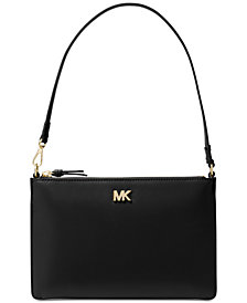 MICHAEL Michael Kors Soft Leather Convertible Clutch