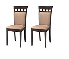 Glen Oaks Contemporary Dining Chair, Set of 2