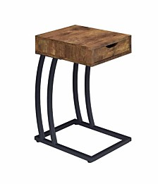 Sutton Industrial One-drawer Accent Table