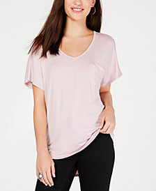 Hippie Rose Juniors' V-Neck T-Shirt