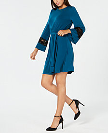 MICHAEL Michael Kors Lace-Trim Dress